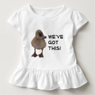 Cute Gray Duckling Photograph Toddler T-shirt