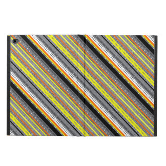Cute gray yellow orange aztec patterns powis iPad air 2 case