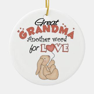 Cute Great Grandma Christmas Ornament