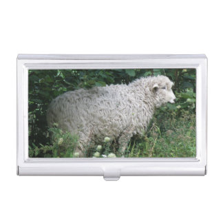 Cute Greedy Sheep Eating Card holder Business Card Holder