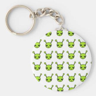 Cute Green Aliens Keychains