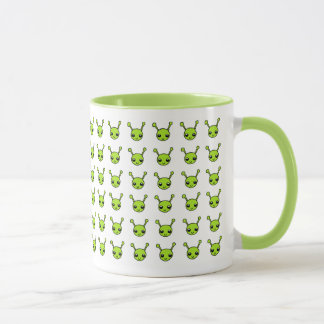 Cute Green Aliens Mug