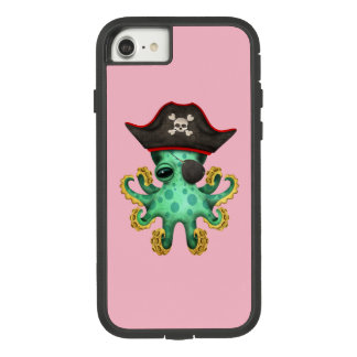 Cute Green Baby Octopus Pirate Case-Mate Tough Extreme iPhone 8/7 Case