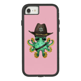 Cute Green Baby Octopus Sheriff Case-Mate Tough Extreme iPhone 8/7 Case