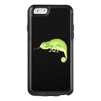 cute green chameleon OtterBox iPhone 6/6s case