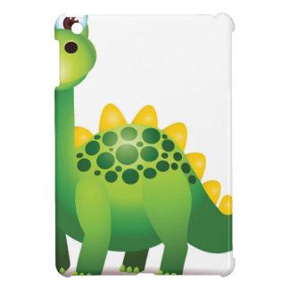 Cute green dinosaur cartoon iPad mini cover