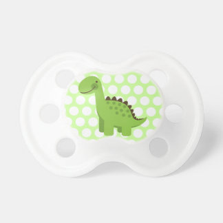 Cute Green Dinosaur Pacifier