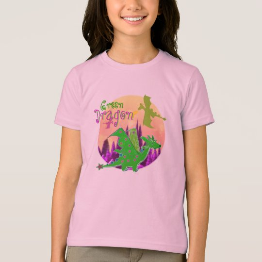 Cute Green Dragon T-Shirt