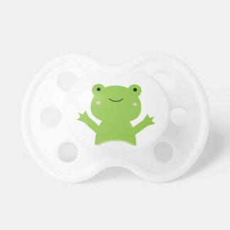 Cute Green Frog Pacifier