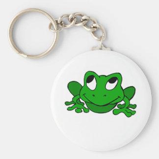 Cute Green Froggie Keychain