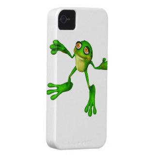 Cute Green Froggy Case-Mate iPhone 4 Case