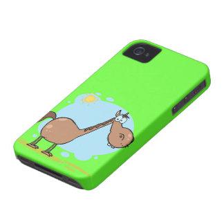 Cute Green Horse iPhone 4 Case