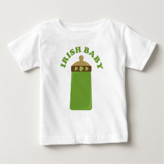 Cute Green Irish Baby Infant Tee Shirt