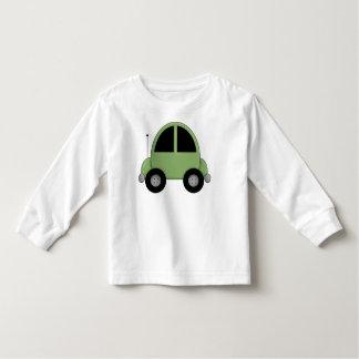 Cute Green Kids Car Toddler T-shirt