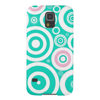 Cute Green Pattern Girly Mint Abstract Polka Dots Case For Galaxy S5