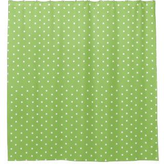 Cute Green Polka Dots