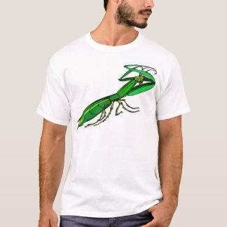 Cute Green Praying Mantis T Shirt