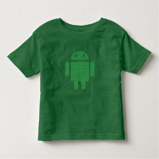 Cute Green Robot Toddler T-shirt