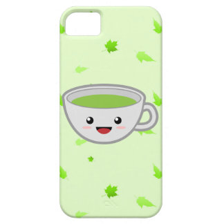 Cute Green Tea Cup Case For The iPhone 5