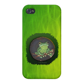 Cute Green Tree Frog Animal-lovers Gift iPhone 4/4S Cover