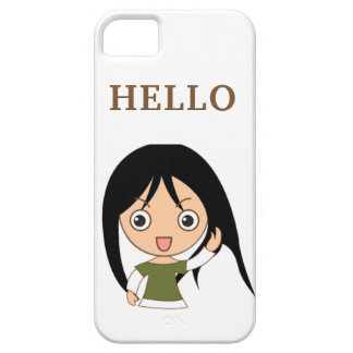 CUTE GREETING HELLO IPONE iPhone 5 COVERS