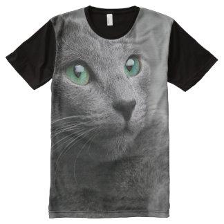 Cute grey cat All-Over-Print T-Shirt