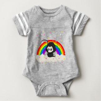 Cute Grim Reaper Baby Bodysuit