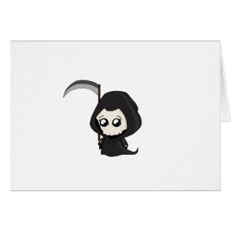 Cute Grim Reaper Card