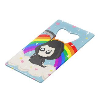 Cute Grim Reaper Credit Card Bottle Opener