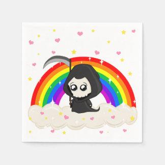 Cute Grim Reaper Disposable Napkin