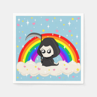 Cute Grim Reaper Disposable Napkins