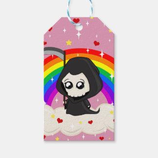 Cute Grim Reaper Gift Tags