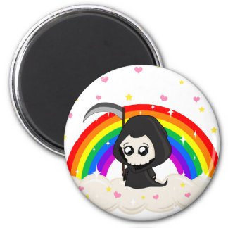 Cute Grim Reaper Magnet