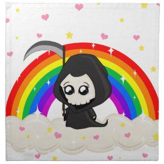 Cute Grim Reaper Napkin