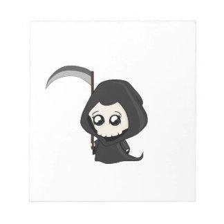 Cute Grim Reaper Notepad
