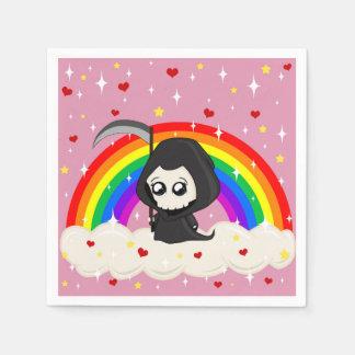 Cute Grim Reaper Paper Napkin