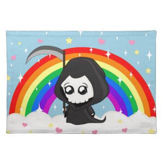 Cute Grim Reaper Placemat