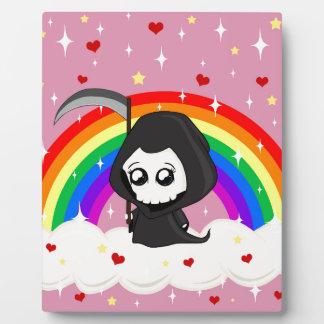 Cute Grim Reaper Plaque