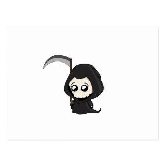 Cute Grim Reaper Postcard