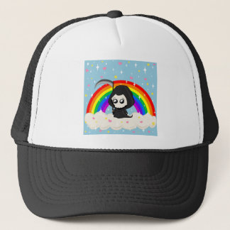 Cute Grim Reaper Trucker Hat