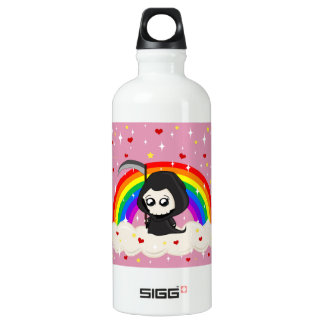 Cute Grim Reaper Water Bottle