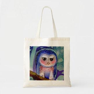 Cute grumpy Owl Tote Bag