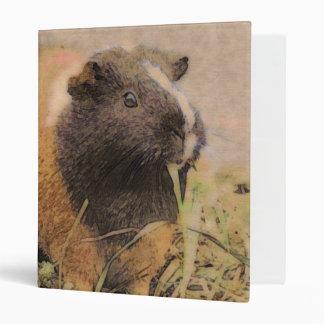 cute Guinea pig Binder