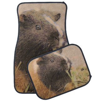 cute Guinea pig Car Mat