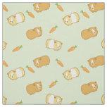 Cute Guinea Pig Fabric