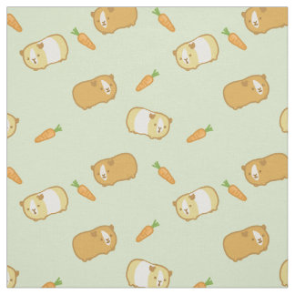 Cute Guinea Pig Fabric