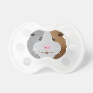 cute guinea pig face baby pacifiers