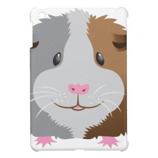 cute guinea pig face iPad mini case