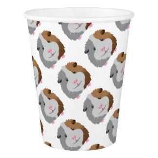 cute guinea pig face paper cup