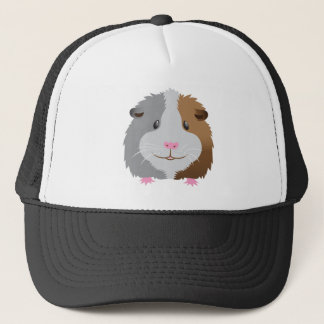 cute guinea pig face trucker hat